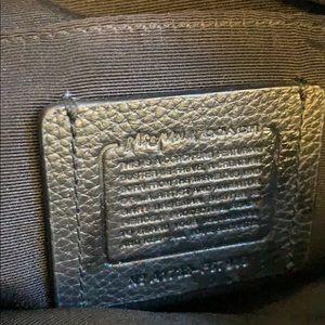 Coach Bags - COCAH Black Leather Crossbody Bag Purse Baseman